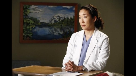 "After an earlier miscarriage, Cristina Yang (played by Sandra Oh) in the hit series ""Grey's Anatomy"" decides to have an abortion in order to keep up her workaholic tendencies. The show's creator and show runner Shonda Rhimes later told New York Magazine that she had wanted to include the plot line in the first season, but had ""some very strong conversations with Broadcast Standard and Practices back then about the topic."""