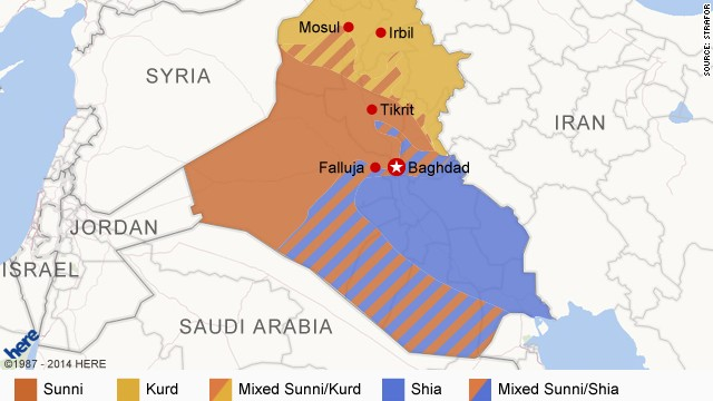 Iraq's ethnic divide