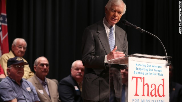 Thad Cochran wins Mississippi primary
