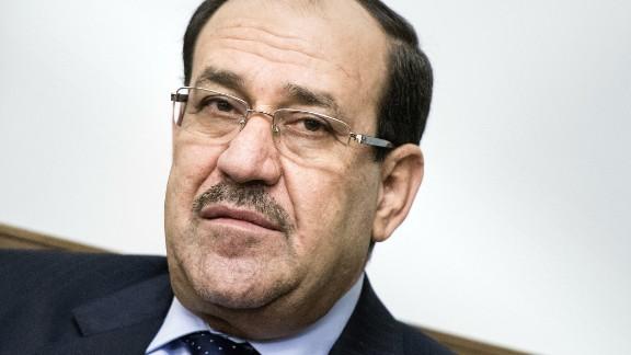 Iraqi Prime Minister Nuri al-Maliki at the Prime Minister