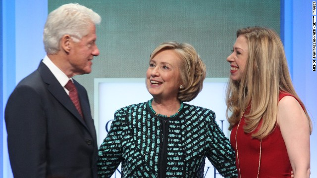 Do the Clintons disagree politically?