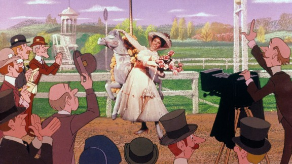 """The musical """"Mary Poppins"""" kicked off the film career of stage star Julie Andrews, who went on to win an Academy Award for her portrayal of the loving-but-firm nanny. The film debuted in August 1964."""