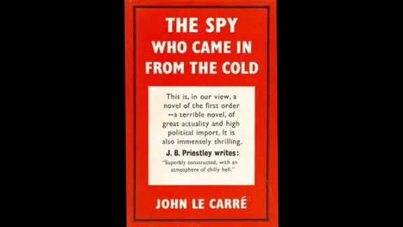 Spy stories were big sellers that summer, including John Le Carre