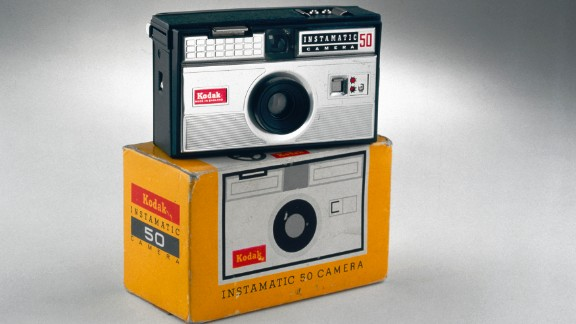 The Kodak Instamatic camera was released in 1963 and became an immediate success, thanks to its simple controls and lightweight design. With millions of Instamatics in circulation within a few years, there