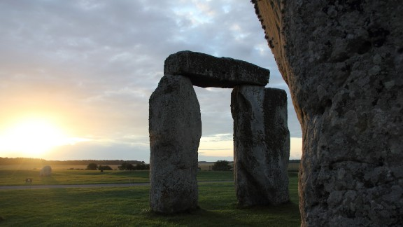 "The clouds break through on a mild July evening at Stonehenge to illuminate the sarsen stones, providing ""a brilliant summer backdrop to this amazing place,"" said Ken Arbuckle, who captured this image during a July 2011 vacation."