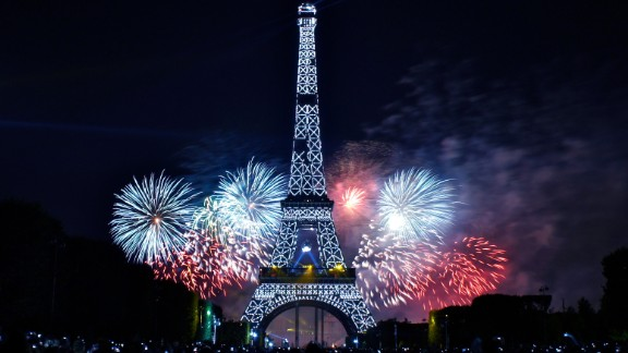 The fireworks on Bastille Day are a must-see if you