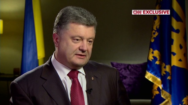 Ukraine Pres: Putin can be 'emotional'