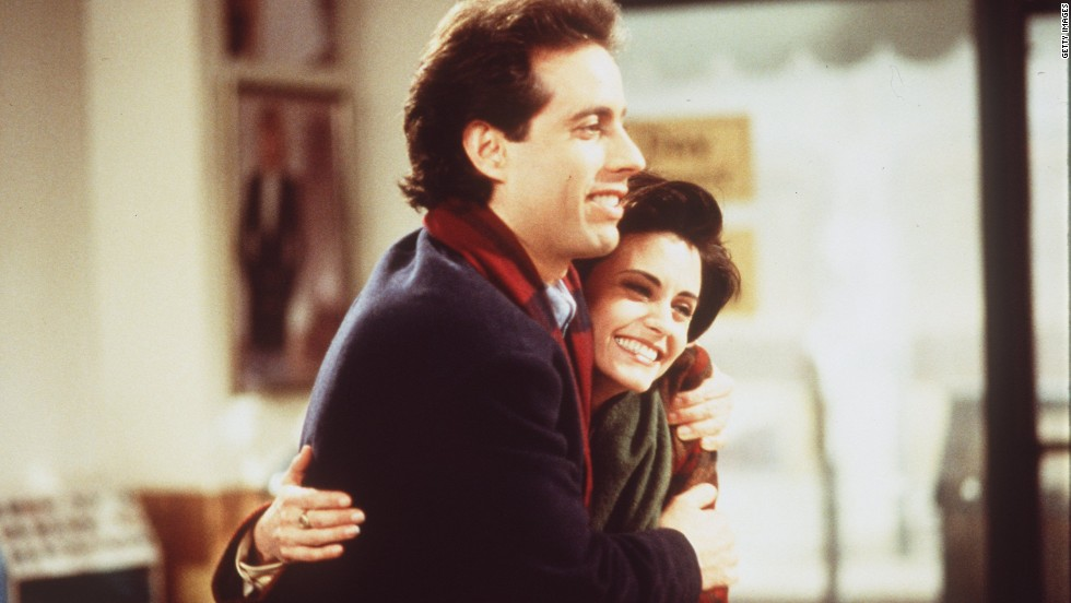 "We all love the main characters of Seinfeld, but did you know that some other famous faces got their start on the sitcom? Courteney Cox played Jerry's girlfriend Meryl in season 5's ""The Wife,"" in which Jerry gets a discount at his dry cleaners and Meryl partakes by claiming to be Jerry's wife. The ""marriage"" ends badly. Six months after her ""Seinfeld"" debut, Cox debuted on ""Friends"" as Monica Geller, a role that would last for 10 seasons."