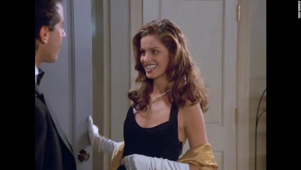 "Amanda Peet is in season 8 as Jerry's date to the Tonys. Peet plays a waitress named Linette who has a male roommate (whom she is also probably seeing on the side). Eventually, Linette starts to date Jerry exclusively, but her active lifestyle gets to Jerry. Peet's reputation got a boost playing Marin in ""Something's Gotta Give"" opposite Jack Nicholson and Diane Keaton."