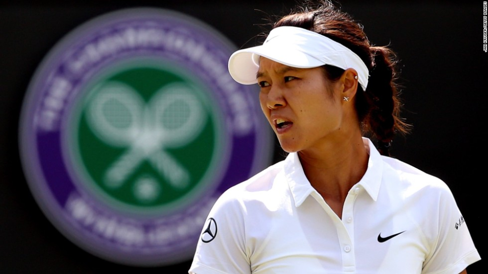 Li Na suffered a shock third round defeat on Court One to Barbora Zahlavova Strycova of Czech Republic.