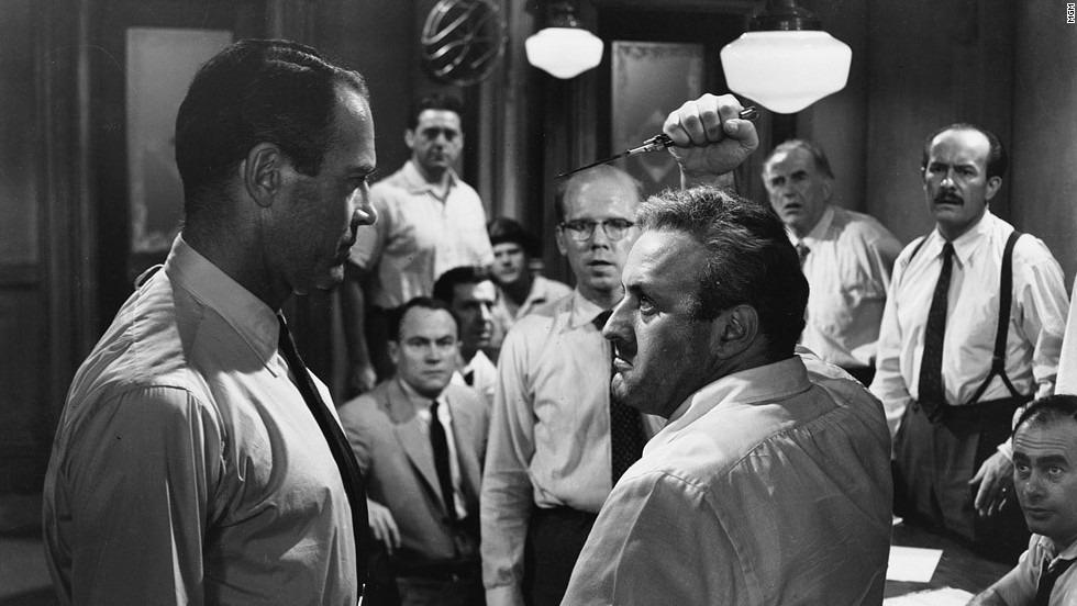 "<strong>""12 Angry Men"" (1957)</strong> - Henry Fonda, Jack Klugman, Lee J. Cobb, and E.G. Marshall are among the cast of this film about a jury that must decide the fate of a teen accused of killing his father. (Netflix)"