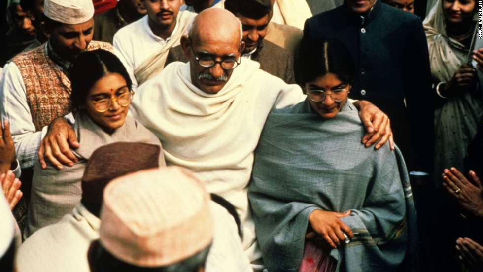 "<strong>""Gandhi"" (1982)</strong> -  Sir Ben Kingsley won a best actor Oscar for his role in this biopic about Mahatma Gandhi. (Netflix)"