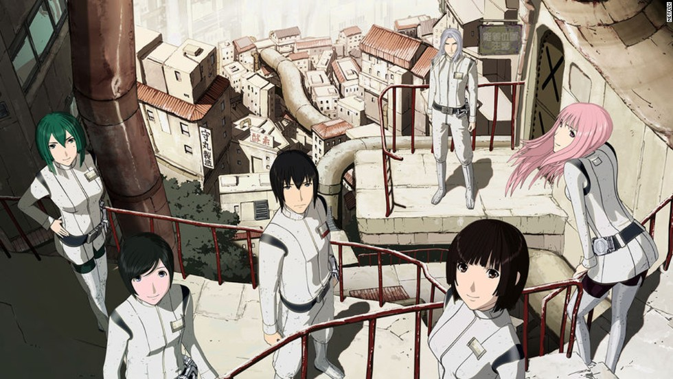 "<strong>""Knights of Sidonia"" (2014)</strong> - The first season of Netflix's first animated series centers on a heroic pilot's rise from obscurity. (Netflix)"