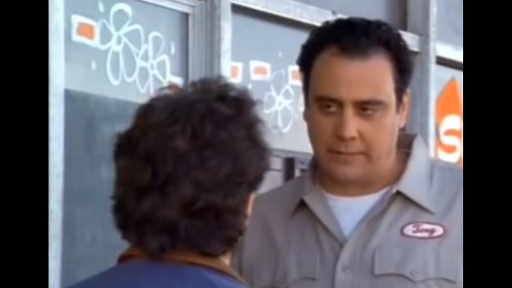 """Brad Garrett played a crazy auto mechanic named Tony who steals Jerry's car. When Tony wants to make too many updates to the car, Jerry asks for it back so he can go to another mechanic. Tony says he'll bring the car out front and instead drives away with it.  Four months after his gig on """"Seinfeld,"""" Garrett starred as Robert Barone on """"Everybody Loves Raymond."""""""