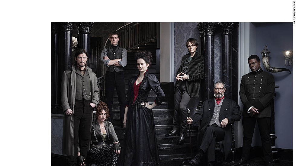 "Get ready to see a new side of Dorian Gray, Dr. Frankenstein and other dark literary figures prowling Victorian London in Showtime's ""Penny Dreadful."" The show returns in the spring of 2015."