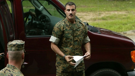 U.S. Marine Corporal Wassef Ali Hassoun.
