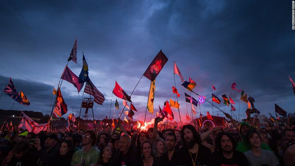 Glastonbury Festival is among the less traditional brands represented in the top 20.