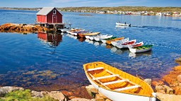 For a traditional Newfoundland and Labrador fishing port experience, turn to Fogo Island. The largest island on Newfoundland and Labrador's vast coast, it's home to 11 <a href=