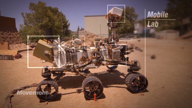 What's it like to maneuver NASA's Curiosity rover?
