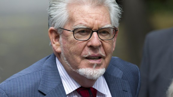 Longtime children's entertainer Rolf Harris arrives last week at Southwark Crown Court in London.