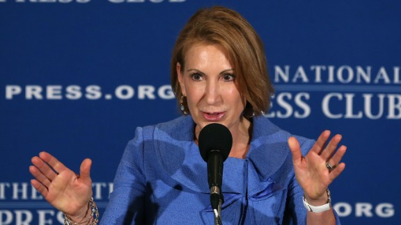 Carly Fiorina, former CEO of Hewlett-Packard, at an event in Washington, D.C. in 2013.
