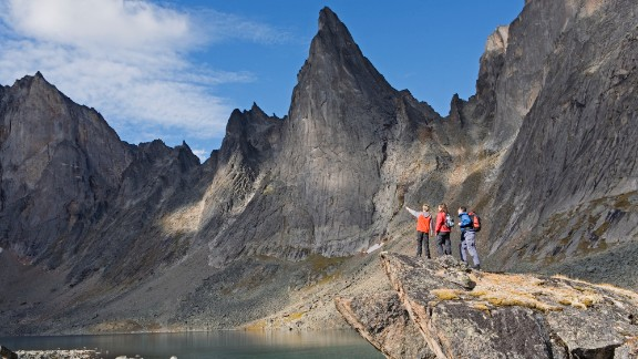 Tombstone Territorial Park: When the Yukon government advises you to leave a hiking plan before traveling into the Tombstone Park area, you