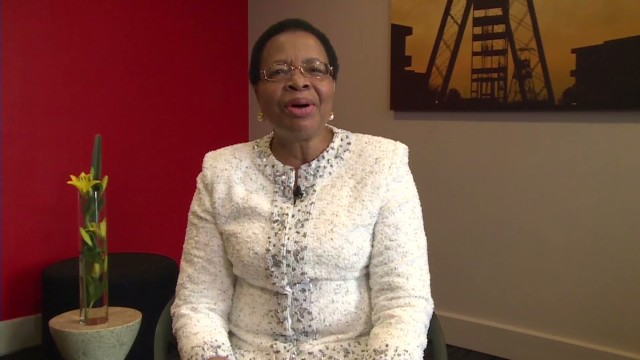 Graça Machel on her hope for South Africa