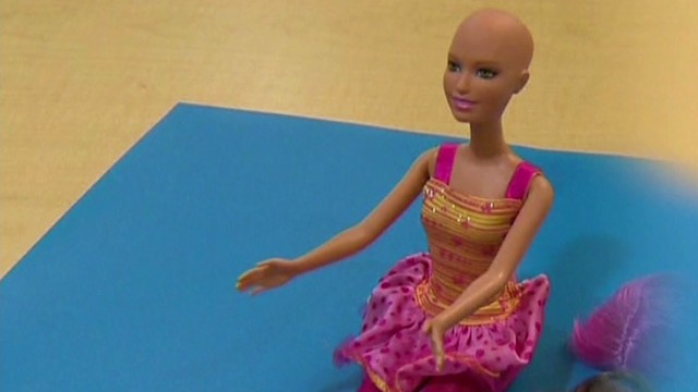 Bald Barbie inspires kids with cancer