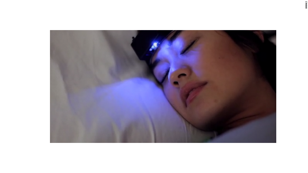 "The Aurora headband from <a href=""https://iwinks.org/"" target=""_blank"">iWinks</a> promises to help users access lucid dreams by prompting them in their REM phase of sleep."