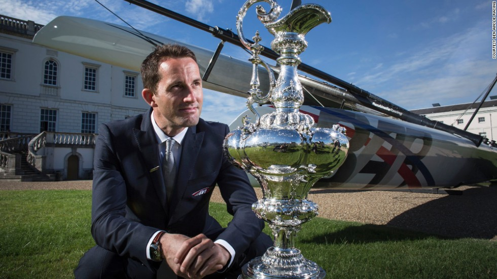 "Britain's Ben Ainslie played a pivotal role in Oracle's success last year but will skipper his own boat for the 35th America's Cup. The four-time Olympic champion said in a statement: ""We are delighted that Royal Yacht Squadron Racing's challenge for the 35th America's Cup has been officially accepted."""