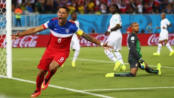 U.S. team captain Clint Dempsey