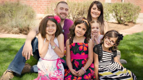 The couple say they are healthier and happier knowing they're setting good examples for their four daughters. The family has switched to a plant-based diet at home and spends lots of time outside.