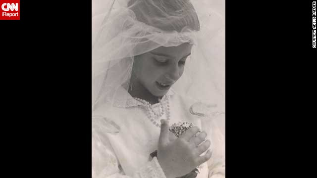 Adele Raemer's daughter Lilach, seen here as a young girl, has spent most of her life dreaming about her wedding day.