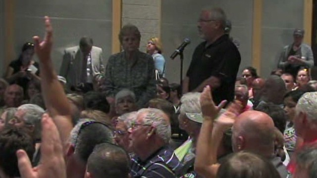 Tensions high at immigration town hall