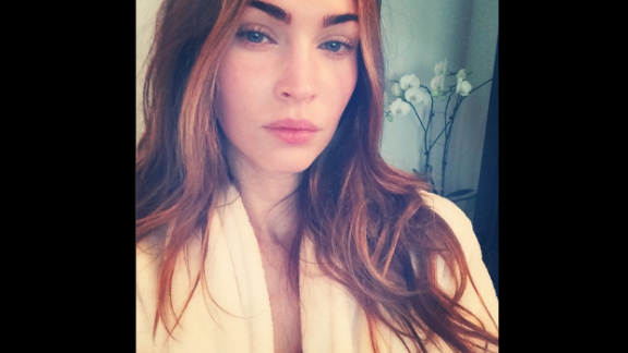 Megan Fox is an Instagram newbie, but she already has a knack for taking selfies. The star shared her first Instagram self-portrait -- and her second post to the site overall -- in July 2014, telling her fans that although the photo was captured in the early morning without makeup, she definitely used a filter.