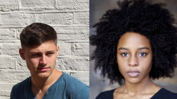 "Actors Pip Andersen, left, and Crystal Clarke were picked from an open casting call to join the movie. Andersen is skilled in the training discipline parkour, and ""The Force Awakens"" will be one of Clarke's first feature films."