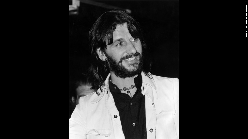 Ringo Starr at an exhibition of steel furniture designed by himself and Robin Cruickshank, at Liberty's, London in 1971.