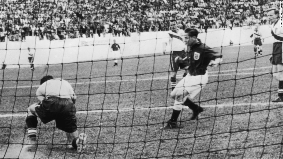 "<strong>USA 1-0 England (1950):</strong> That same tournament -- in the same city where Germany hammered Brazil 64 years later -- <a href=""/2014/06/30/sport/football/world-cup-team-usa-football/index.html"" target=""_blank"">a star-studded England team was expected to sweep aside an American lineup of mailmen and school teachers.</a> Joe Gaetjens, a Haitian who was later thought to have been killed by Francois ""Papa Doc"" Duvalier's death squad, scored the only goal to stun the football world."