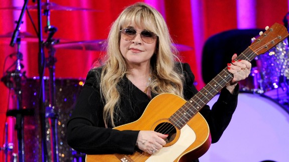 Stevie Nicks, seen here receiving the BMI Icon Award at the BMI Pop Awards in May, is also a new cast member of NBC