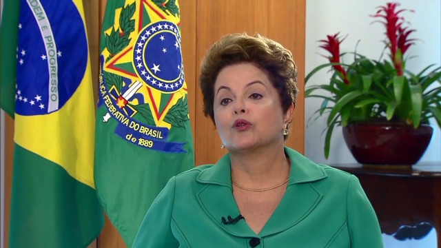 Brazil Pres: 'Nightmares never got so bad'