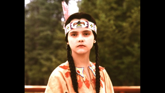 """Summer camps often have a costume competition; if you're not a seamstress, you can farm out the costume creation to someone who is. Pictured: Christina Ricci in 1993's """"Addams Family Values."""""""