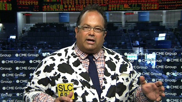 Scott Shellady, CEO of Bull Reef Brokerage, talks to CNN from the Chicago Mercantile Exchange.