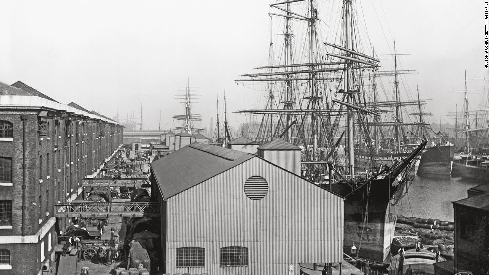 "Long gone are the days of wooden merchant vessels, like this one pictured in London in 1893. ""No-one is completely dismissing the idea of unmanned ships at some point in the future,"" said Bennett. ""But I say that in the same way that no-one dismisses the idea that robots will be running society at some point in the future."""