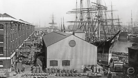 """Long gone are the days of wooden merchant vessels, like this one pictured in London in 1893. """"No-one is completely dismissing the idea of unmanned ships at some point in the future,"""" said Bennett. """"But I say that in the same way that no-one dismisses the idea that robots will be running society at some point in the future."""""""