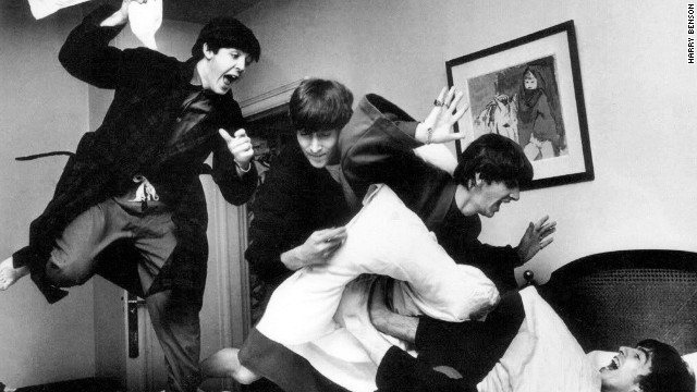 Beatles photographer shares iconic pics