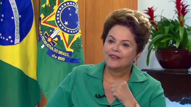 Brazil President on women in power