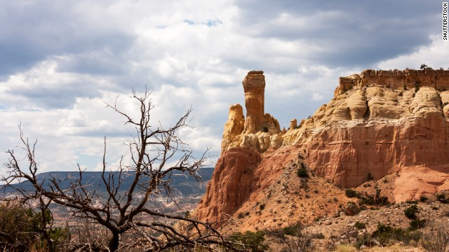 Scenic views of Ghost Ranch in New Mexico