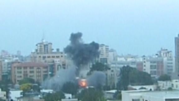 tsr wolf blitzer jerusalem israel rockets hamas_00004407.jpg