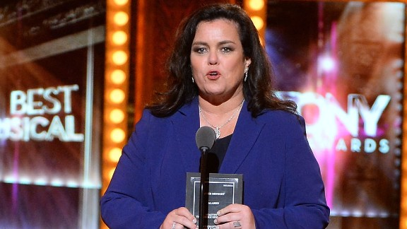"""Rosie O'Donnell was part of """"The View"""" twice. She left the show in early 2015 to focus on her family after a split from her wife. O'Donnell previously co-hosted during the show's 10th season in 2006-07 and got into heated debates with former co-host Elisabeth Hasselbeck."""