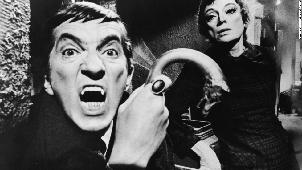 "Jonathan Frid's vampire Barnabas Collins started off as scary in the late '60s soap, ""Dark Shadows,"" but it wasn't long before he transitioned into being a love interest who just happened to have an appetite for blood. Johnny Depp later reprised the role in a 2012 movie adaptation of the TV series."